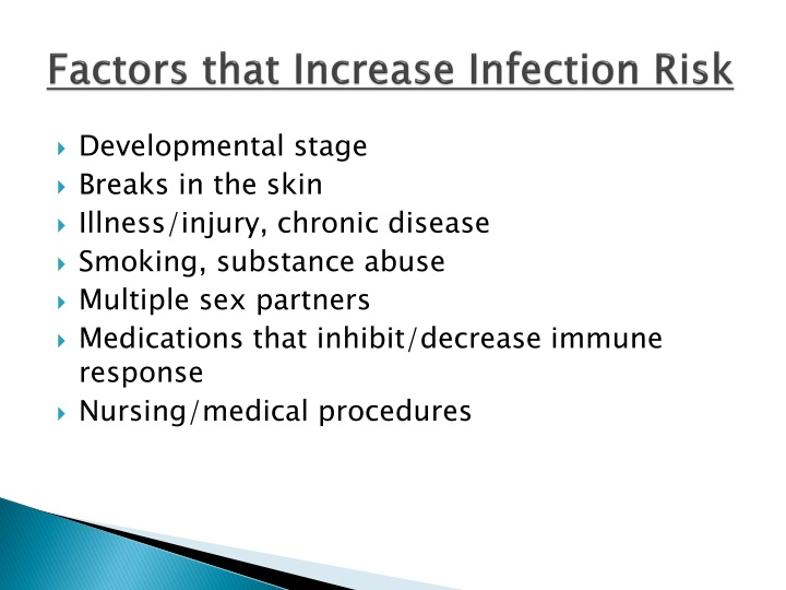 Factors that Increase Infection Risk