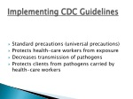 implementing cdc guidelines