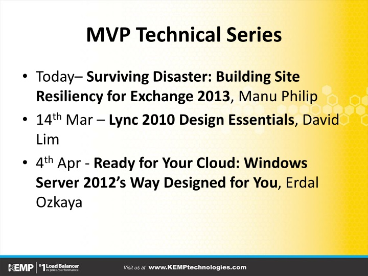 Mvp technical series