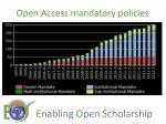 open access mandatory policies