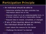 participation principle
