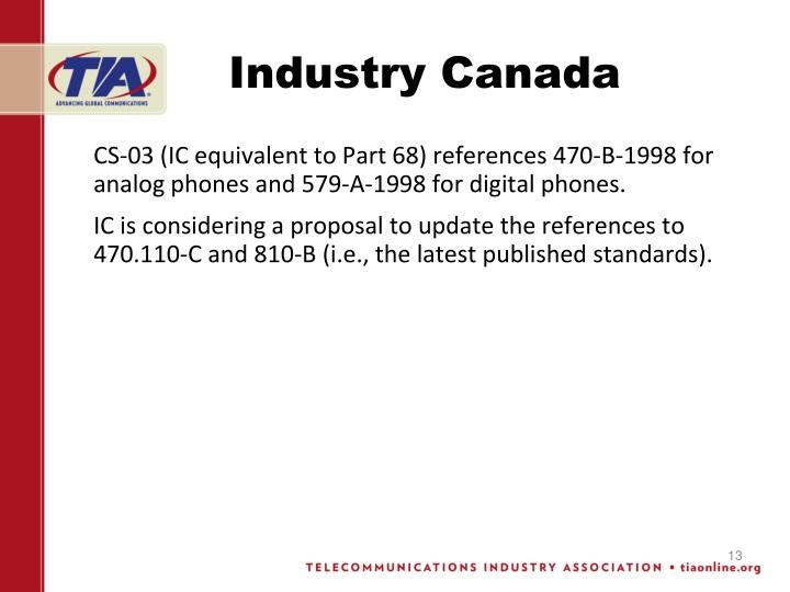 Industry Canada