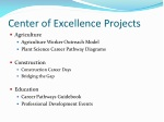 center of excellence projects
