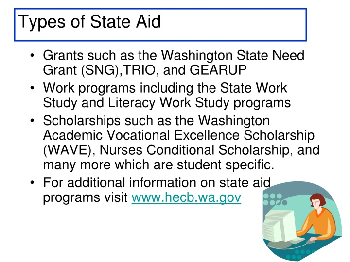 Types of State Aid