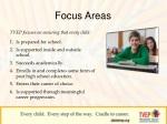focus areas
