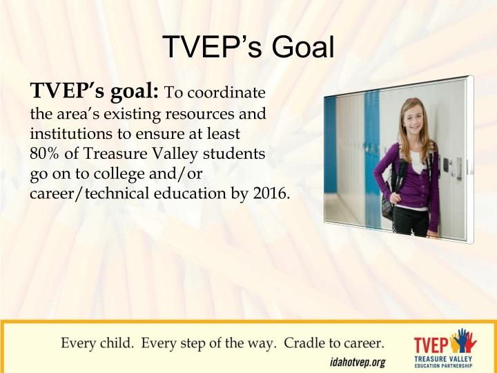 TVEP's Goal