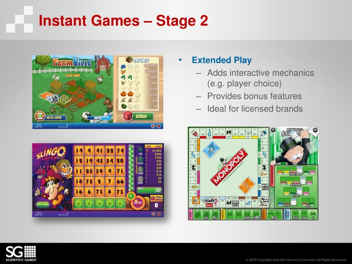 Instant Games – Stage 2