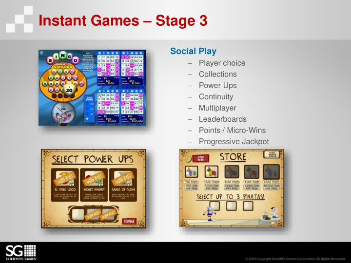Instant Games – Stage 3