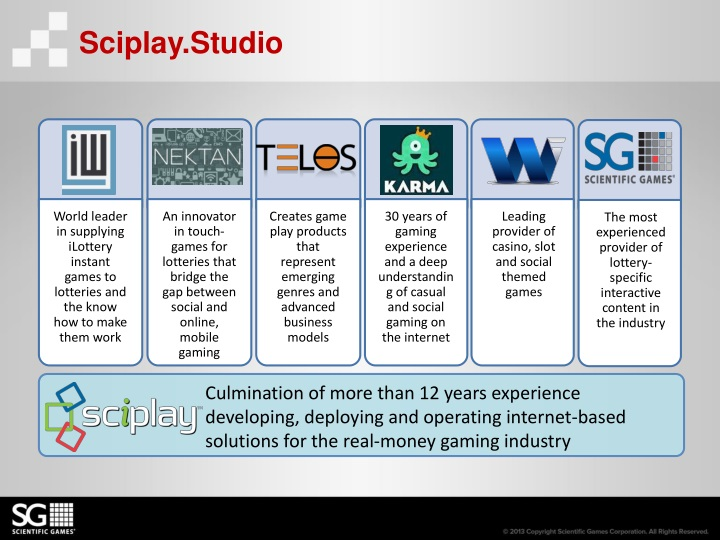 Sciplay.Studio