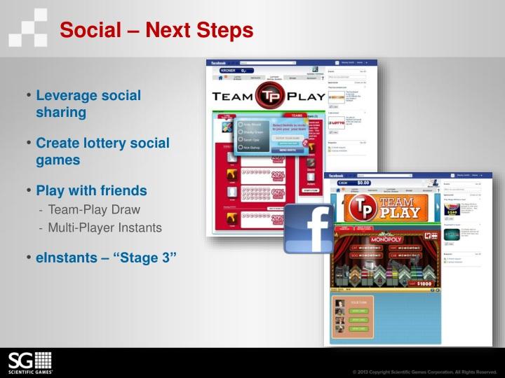 Social – Next Steps