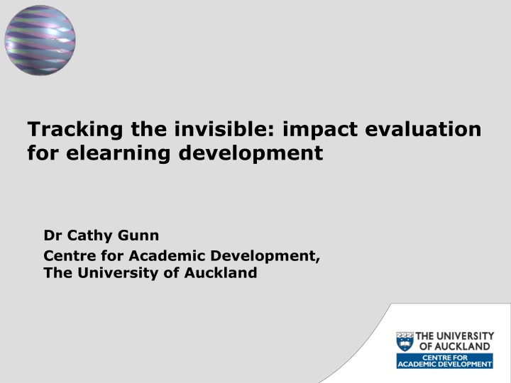 Tracking the invisible: impact evaluation for elearning development