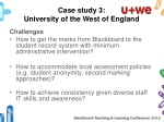 case study 3 university of the west of england