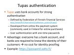 tupas authentication