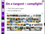 on a tangent compfight