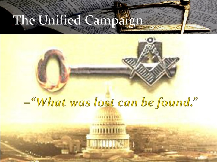 The Unified Campaign