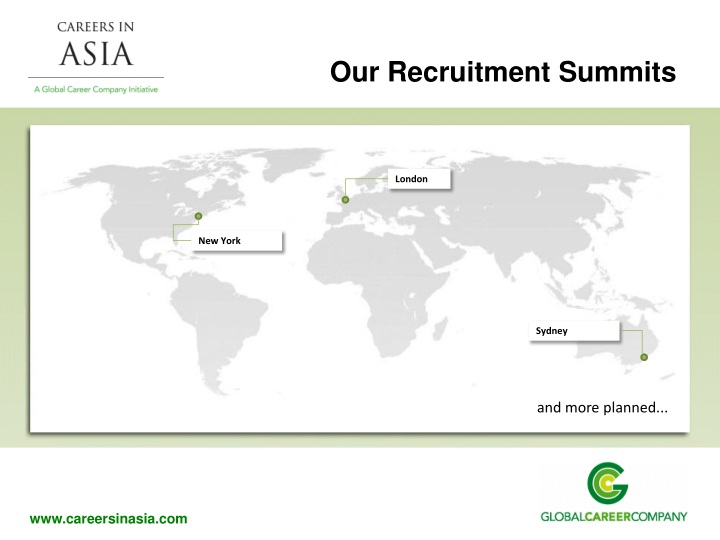 Our Recruitment Summits