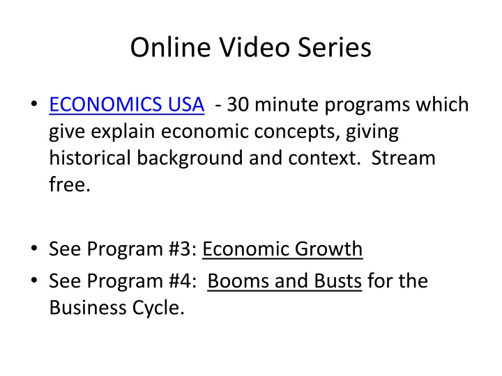 Online Video Series