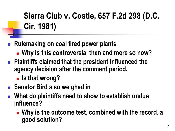 Sierra Club v.