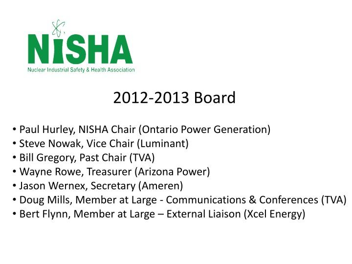2012-2013 Board
