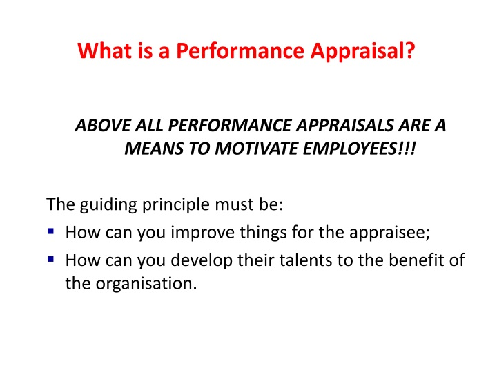 What is a Performance