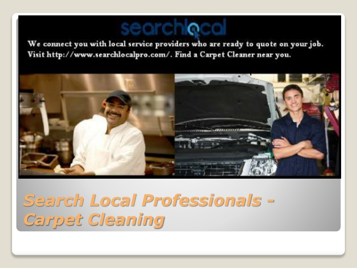 Search local professionals carpet cleaning