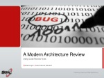 a modern architecture review