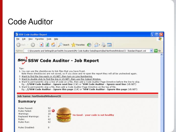 Code Auditor