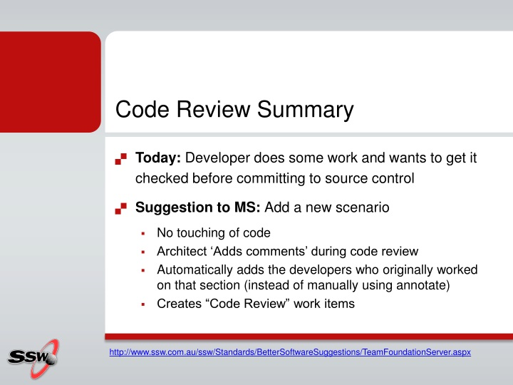 Code Review Summary