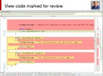 view code marked for review