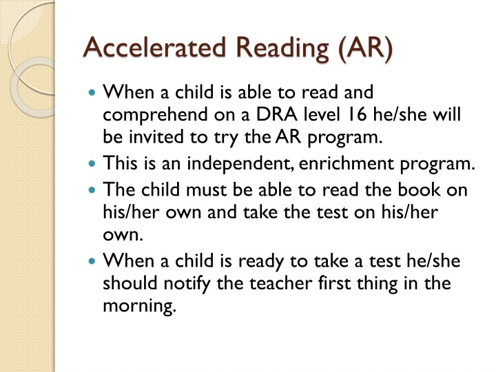 Accelerated Reading (AR)