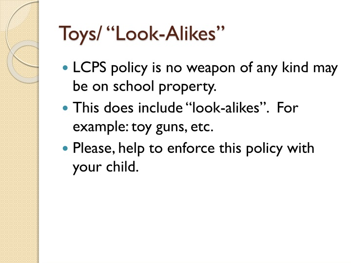 "Toys/ ""Look-Alikes"""