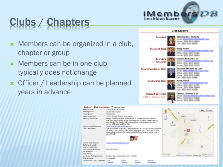 Clubs / Chapters