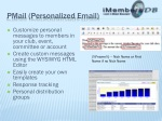 pmail personalized email