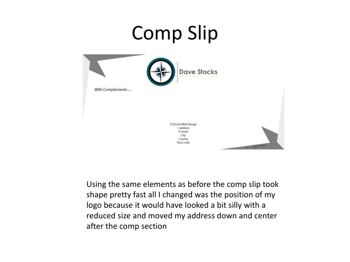 Comp Slip