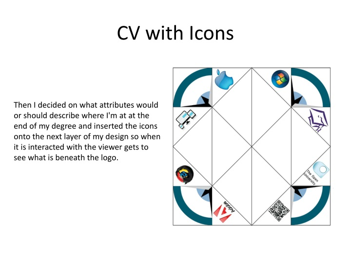 CV with Icons