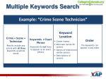 multiple keywords search1
