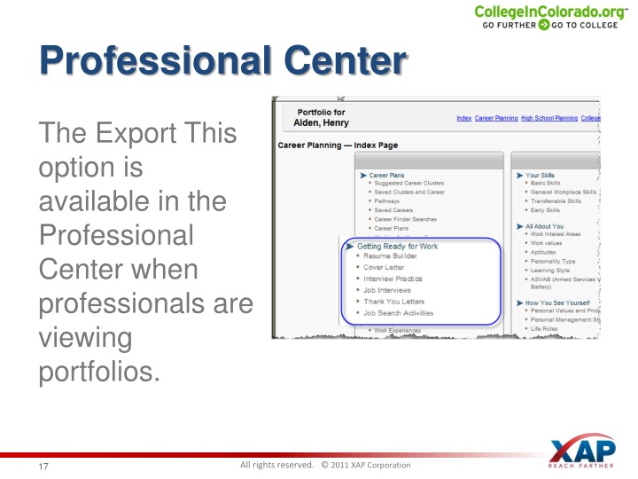 Professional Center