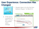 user experience connection has changed