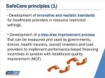 safecare principles 1