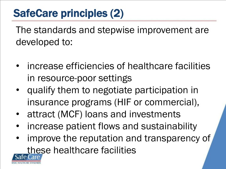 SafeCare principles (2)