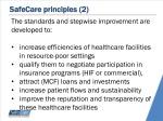 safecare principles 2
