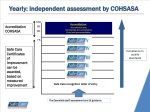 yearly independent assessment by cohsasa