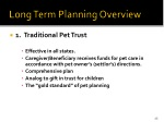 long term planning overview