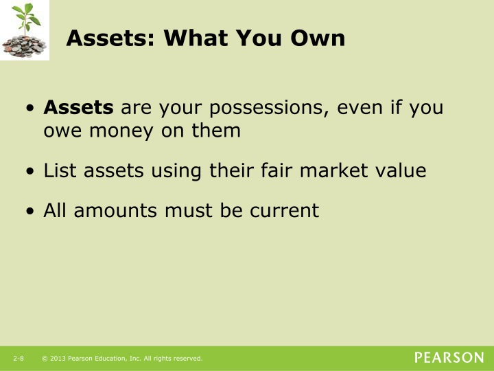 Assets: What You Own
