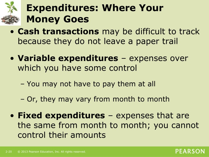 Expenditures: Where Your