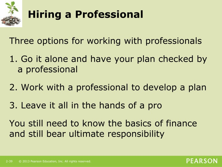 Hiring a Professional