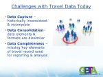 challenges with travel data today