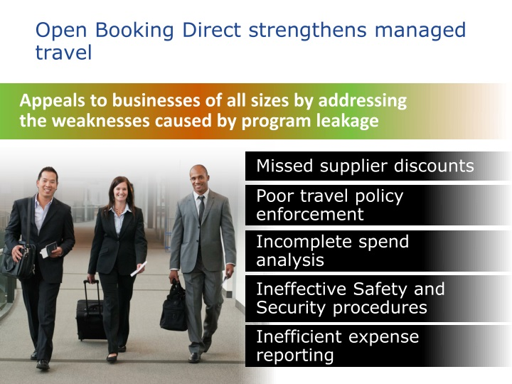 Open Booking Direct strengthens managed travel