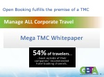 open booking fulfills the premise of a tmc