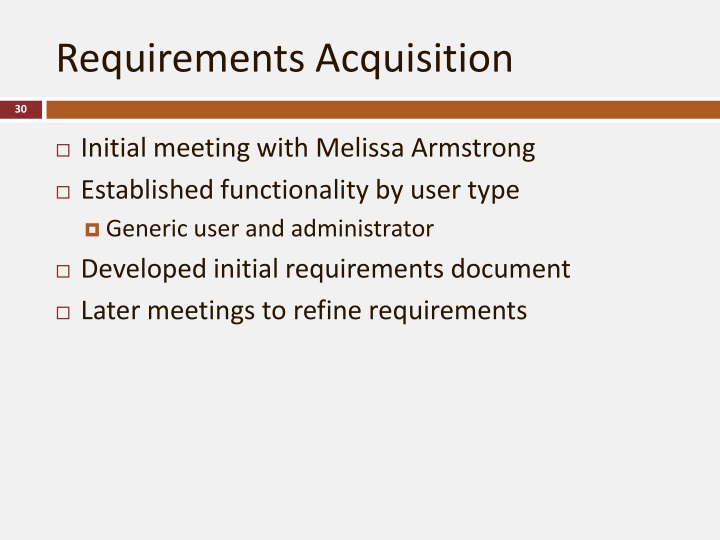 Requirements Acquisition